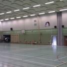 Sporthallen efter ombyggnad