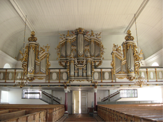 Baroque organ from 1728