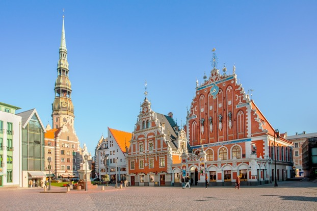 Riga, the capital of Latvia.