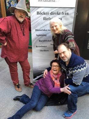 Anders Blomström, Birgitta Andersson Backlund, Lill Viljesten och Jakob Sverker, Söderhallarna hösten-16