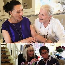 Planeringsmöte den 26/5-18 med Pia F Davidson, Lill Viljesten, Carina Aynsley och Birgitta Andersson Backlund.