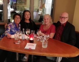 Informellt möte om utbildningar med Birgitta Backlund, Pia F Davidson, Lill Viljesten och Svenåke Boström den 29/8-18.