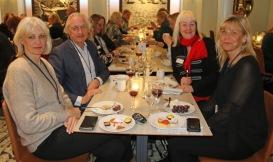 Smörgåsbordet på Birka Cruises avnjöts av samtliga litteraturkryssare.