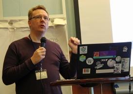 Lennart Guldbrandsson pratar gestaltning och spänning, Birka -19.