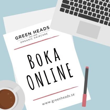 boka online tider hos någon av våra duktiga gröna frisörer på GREEN HEADS