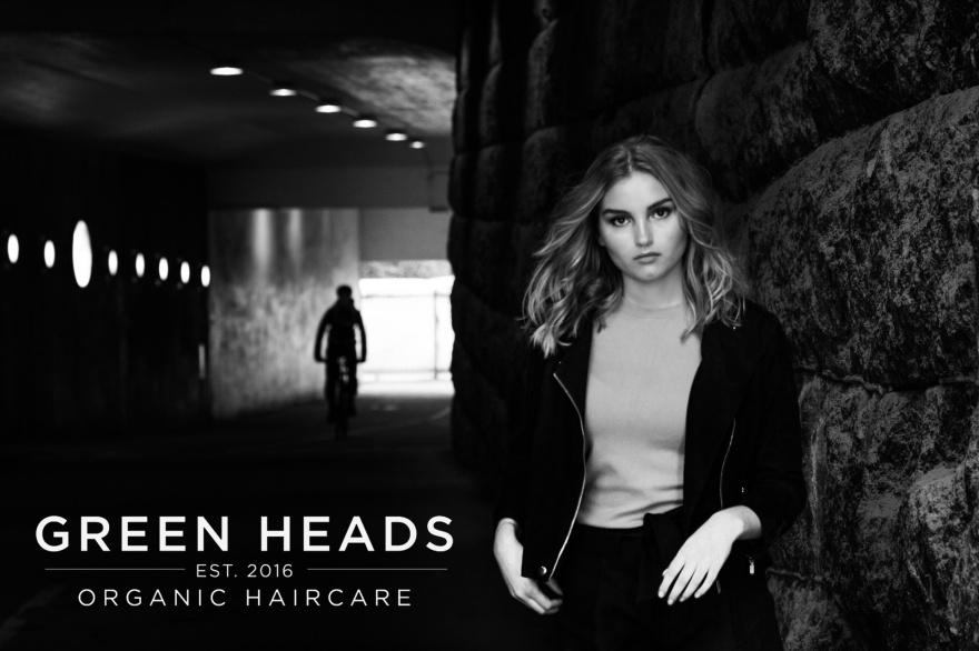 GREEN HEADS grön hårsalongskedja med hållbara visioner