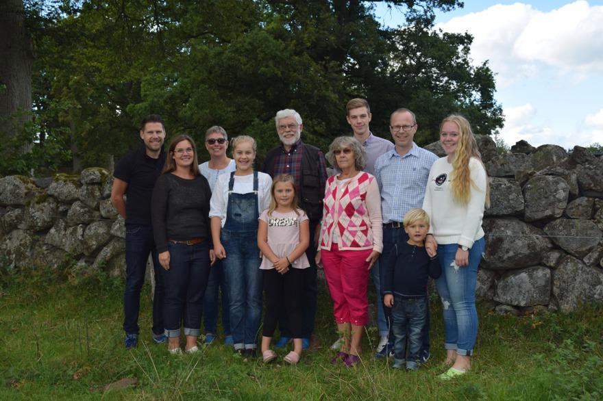 Familjen Björklund i tre generationer