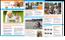Digitalt nyhetsbrev för Intervac Home Exchange. Det skickas ut 4-5 ggr/år till medlemmar och andra intresserade av att byta bostad på semestern, ca 40 000 personer. Här ses nyhetsbrevet för höst -15.