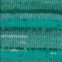 DROPS Fabel - Print Blue Lagoon