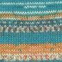 DROPS Fabel - Print Blue sea