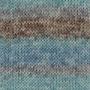 DROPS Fabel - Long Print Ocean view
