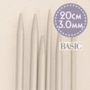 DROPS Basic Strumpstickor av aluminium