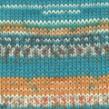 DROPS Fabel - 162 Print Blue sea
