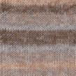 DROPS Fabel - 651 Long Print Sandy dust