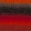 DROPS Delight - 13 röd orange grå