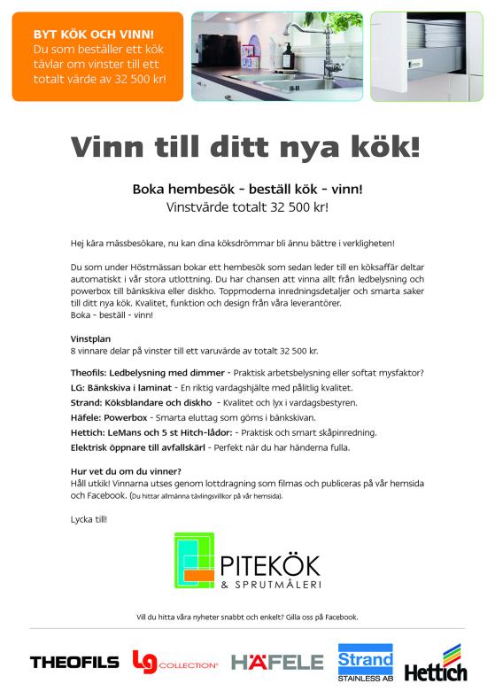 Tävling Pitekök Nolia Höst