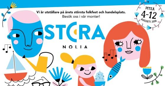 Pitekök på Stora Nolia 2018