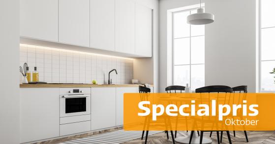 Pitekök: Specialpris på lackering av köksluckor, innerdörrar och garderobsdörrar