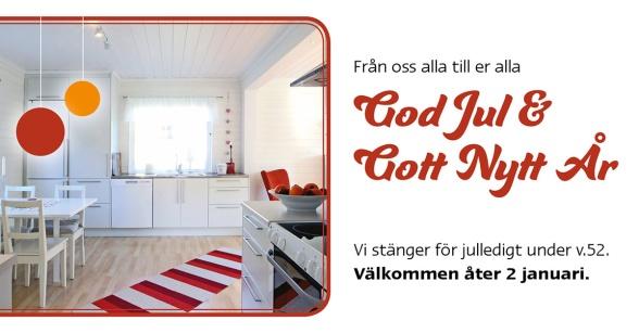 Pitekök önskar God Jul & Gott Nytt År