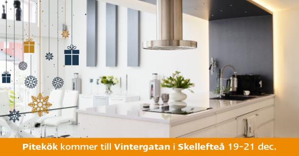 Pitekök kommer till Gallerian Vintergatan i Skellefteå