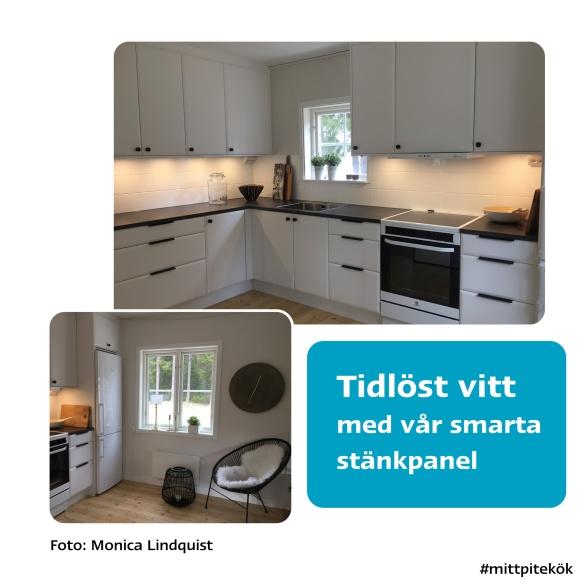 Tidlöst vitt kök från Pitekök