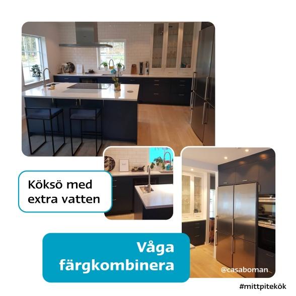 Blått kök från Pitekök