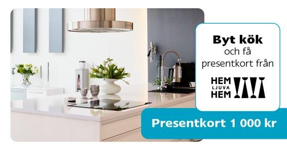 Erbjudande från Pitekök: Byt kök och få ett presentkort från  Hem Ljuva Hem