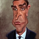 Connery caricature web