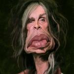 Steven Tyler Caricature