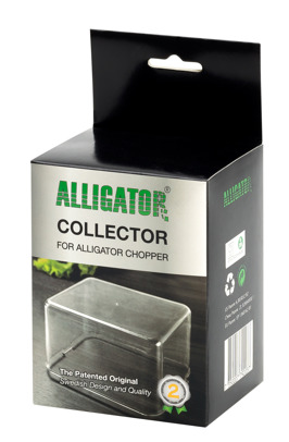 Collection box for Alligator Chopper and dicer.