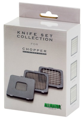 Spare knife set for Alligator Stainless Steel Chopper and dicer.