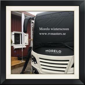 Morelo vinterskydd/winterscreen