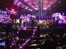 Alla artister samlas på scenen inför lottningen av duellerna i Andra Chansen