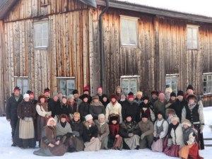 Alla deltagare på Ljørdalsturen 2013, foto: Kjetil