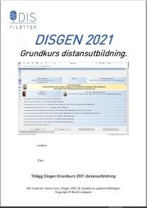 Utskrifter för Disgen 2021
