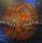 Life on Mars - Bowie, akryl och stål, såld genom Galleri Bluelight