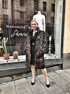 Greta Garbo Päls - Greta Garbo leopard M