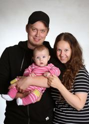 Susanne & Joacim med Millie
