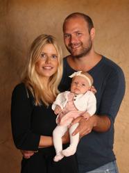 Anette & Thim med Freja