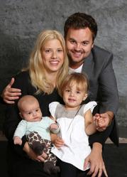 Janni & Joel med Fred och Astrid