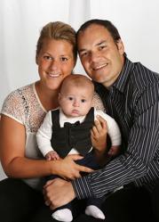 Karin & Mauricio med Marcel