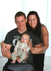 Evelina & Finn med Lucas