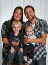 Markus & Linda med Odin och Vile