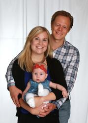 Johanna & Daniel med Amelie