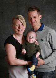 Sara & Marcus med Lennox
