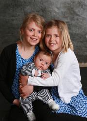 Anna & Rolf med Axel och syskonen Ella,Livia
