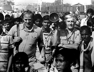 Bengt Jonson och Åke Karlsson startade Sebra Film AB 1966.