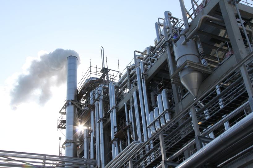 Sunepines fabrik, Piteå, som producerar tallolja för inblandning i olika bränseln.