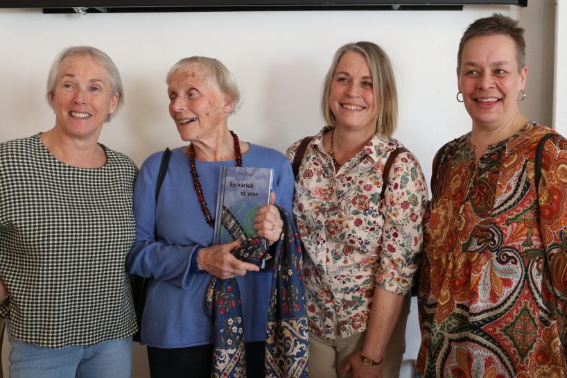 Bengts fru Karin med döttrarna Ingrid, Anna och Malin var också där.