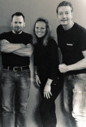 Team Puckies: Andreas, Christine, Peter